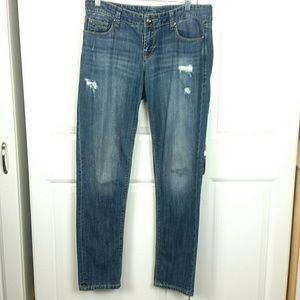 Maurice's Distressed Jeans, sz 8